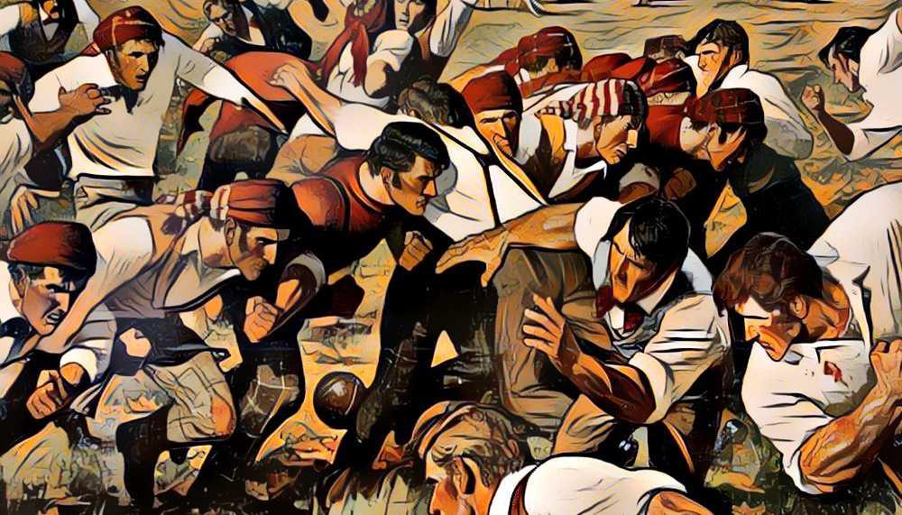カレッジフットボールの歴史